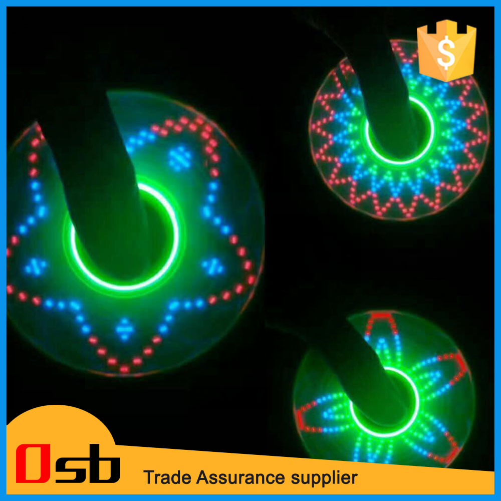 2017 New design LED light hand spinner with bluetooth speaker fidget spinner with CE and ASTM certificate