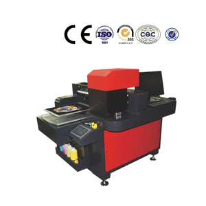 Digital T Shirt Printing Machine DTG T-shirt flat bed printer for sale in China