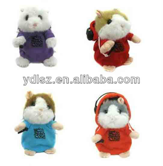 Cute dancing with music Hamster Plush Toy Hamster