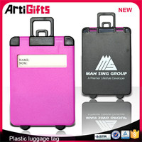 Factory wholesale hard plastic name luggage tag