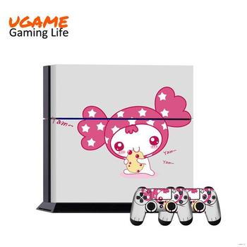 Low price crazy Selling colorful skin sticker for ps4 console