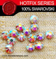 Genuine SWAROVSKI elements AB Clear (001AB) ss3 Sample Hot Fix Rhinestone