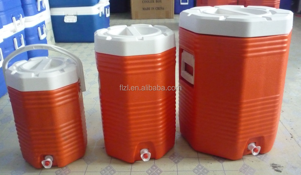 2L 5L 10L 28L 43L gallon round tube cooler box foosball table with cooler box