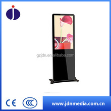 Floor standing one screen 43inch LED HD Advertising player, totem player, digital display for shopping mall