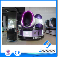 JAMMA 9d vr cinema egg motion chair Virtual Reality thrilling game Customized logo