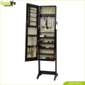 Made in china wooden mirror jewelry cabinet vanity cabinet for bedrrom