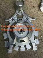 customized wholesale aluminum gravity casting parts and sand casting