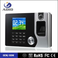 OEM biometric fingerprint time attendance system with free software China C071