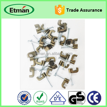 Nordic Plastic Wall Round Cable Fixing Clip