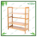 lkea modern 4-tier bookshelf/ bookcase with ladder