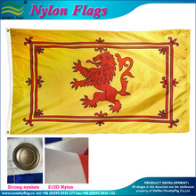 3x5ft 210D Nylon Scotland Rampant Lion Flag