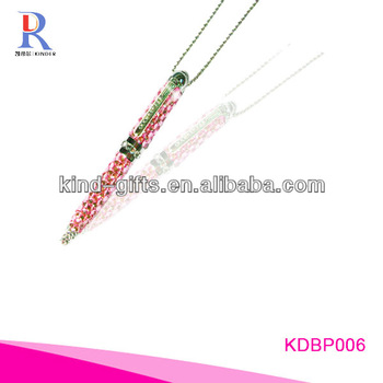 crystals beaded polar pen KDBP011