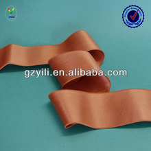 Orange elastic nylon lycra tape