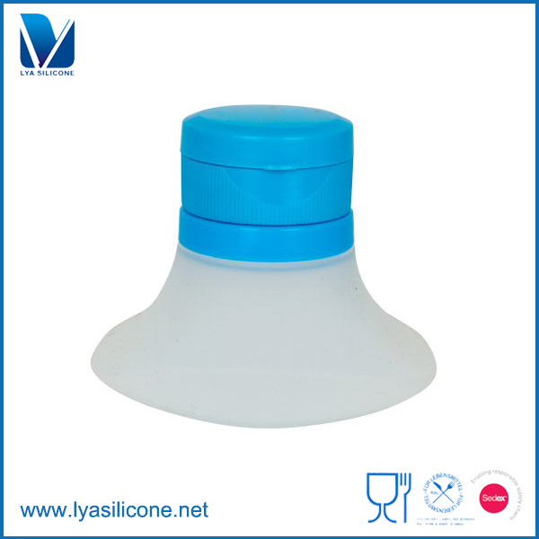 Mini Silicone Salad Container With Dressing For Travalling