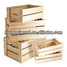 large scale handcraft wooden crates wholesale