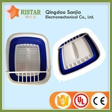 Collapsible Dish Drainer Drying folding rack with drain board