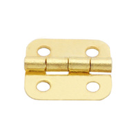 HG11002 Brass Plated Wooden Box Hinges