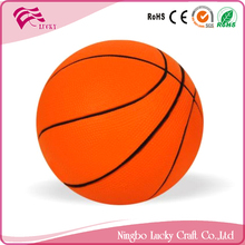 Lucky Craft PU foam 63mm balls soft reliever kids toys shape anti stress basketballs