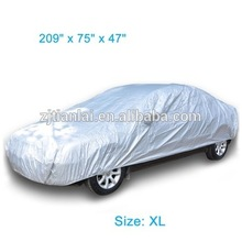 Customized waterproof half top car cover with great price