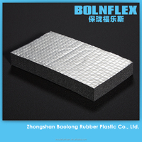 Aluminium Foil Faced Rubber Foam Sheet Heat Insulation Material