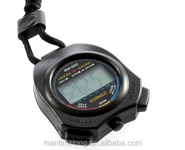 New Handheld LCD Portable Electronical brand stopwatch pocket stopwatch professional stopwatch