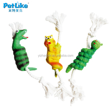 fake dog toys monster dog chew toy New 2016 online shopping dog cat pet China supplier