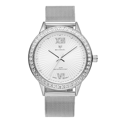 Michael oem luxury lady hand watch stainless steel back made in china