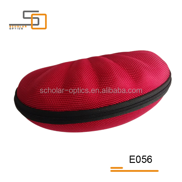 Oxford shells shape optical frames customized EVA glasses case
