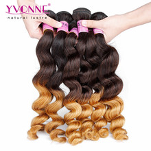 Cheap Loose Wave Hair Extensions Peruvian Ombre Hair Weaves