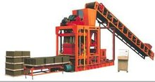 Best sell in market 2011 QTJ4-25 block molding machine burnning free brick machine with hydraulic pressure system