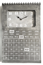 Elegant Ingenious Battery Operated Calendar Clock