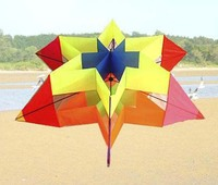 Easy flying flower kite for camping