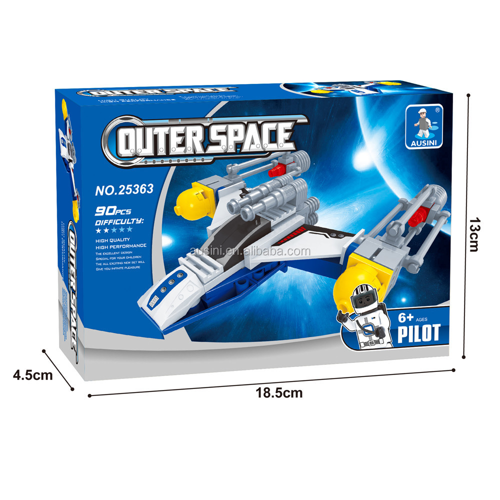 toys outer space series building blocks 3D toys for boys