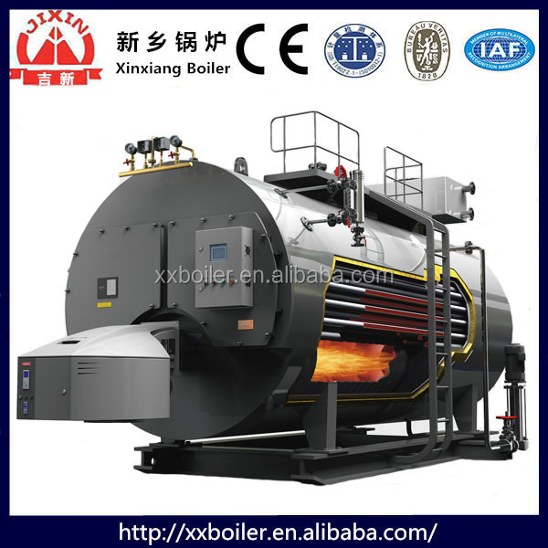 Lower price sale 2 ton natural gas steam boiler operation simple and safe