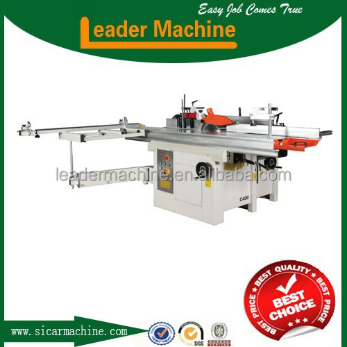 C400 CE certification italian technology Combined woodworking machine with 5 functions