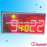 illuminated led bar counter led digital scoreboard mobile phone counter