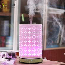 200ML LED Aroma Oil Diffuser Ultrasonic Personal Spa Lamp