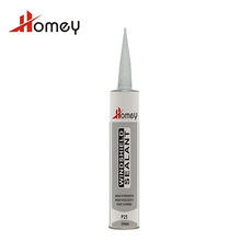 Homey P25 high resistant black color cartridge 310 ml pu sealant