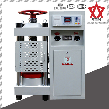 YES-2000H Hydraulic Compression Testing Machine +Concrete Compressive Strength Testing