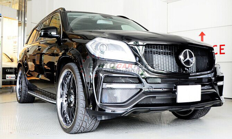 X166 L-style body kits fit for MB GL-CLASS X166 style body kits for GL X166