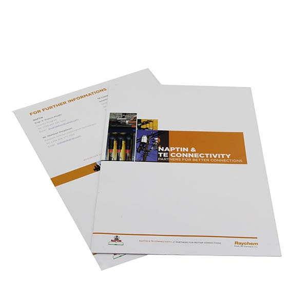 Customized coloring products introduction booklet printing