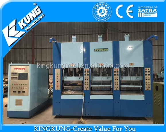 used single color 3 stations 1 gun EVA injection machine