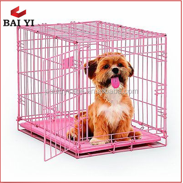 S/M/L/XL/XXL Portable Wire Iron Dog Cages For Cheap Sale From China