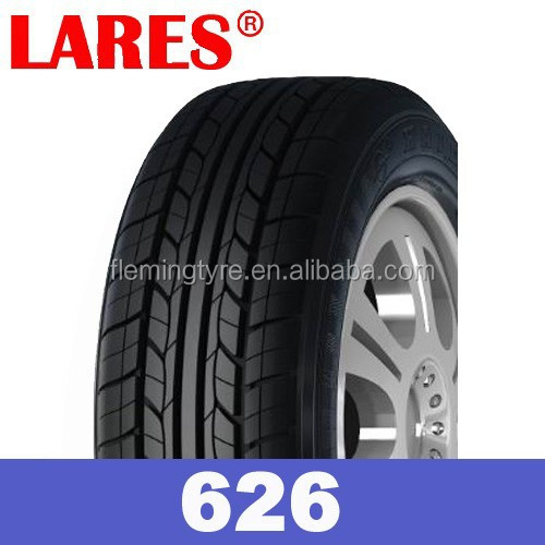Lares brand china radial car tyre new 185R14C pattern LR626
