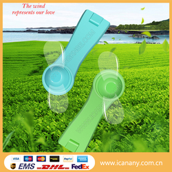 Light weight easy to use rechargeable mini fan battery powered mini electric hand fan mini handheld fan