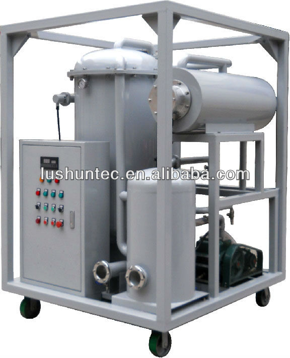 single stage high efficiency Vacuum transformer and input electricity is 3 phase/220 V insluting Oil Purifier(JY)