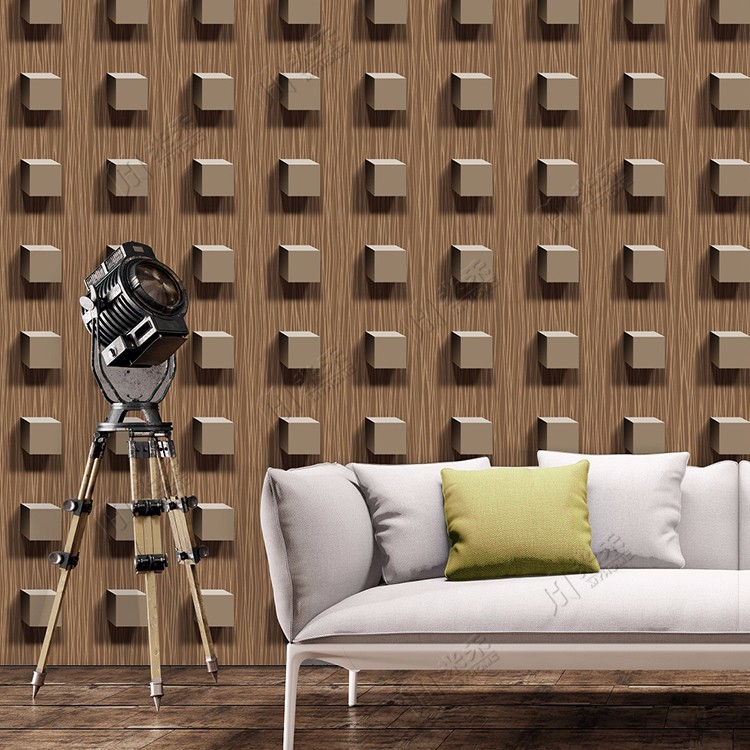 Wood Design Hot Selling Indian Distributor Wanted Interior 3D Wide Width WallpaperRoll