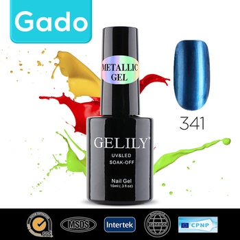 Hot sale Gado GELILY 10ml Metallic Gel 30 colors nail polish gel 314