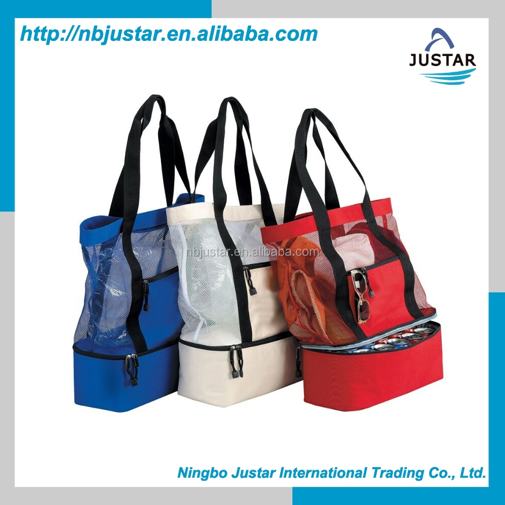 2015 Hot Summer Family Size Tote Bag Insulated Beach Coolers Bag Promotional