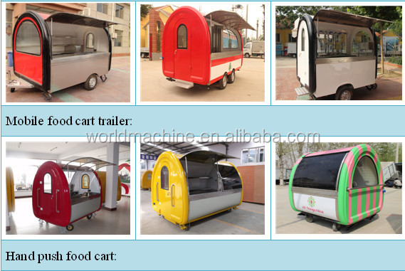 NEW whirlston food cart/three wheel truck food cart/coffee food vending cart price